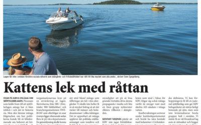 Båtfolket ger  KBV svar på tal.