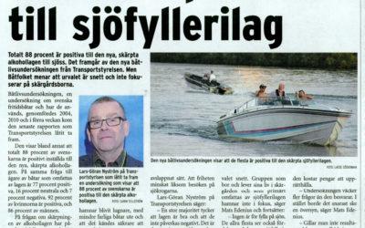 Transportstyrelsen försöker ge morallagen stöd på basis av populism. Får mothugg i Skärgården.