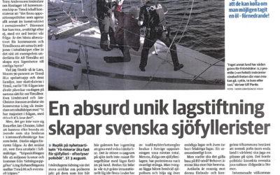 """Sundsvalls tidning """"Absurd lagstiftning"""""""