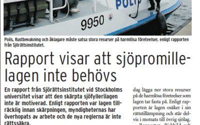 Båtfolket till attack mot sjöfyllerilagen