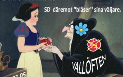 """SD """"blåser"""" väljarna på löften att utvärdera promillelagen!"""