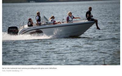 UNT – Pontus Almquist: Höj promillegränsen till sjöss